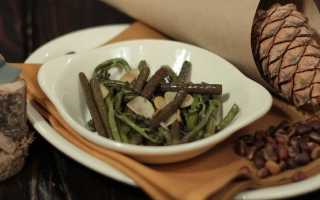 Рецепты из папоротника соленого