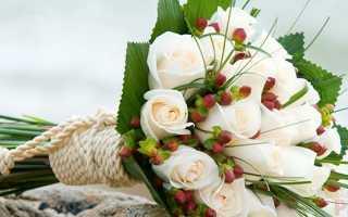 Белые розы символ