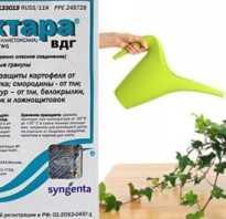 Актара инструкция для комнатных растений